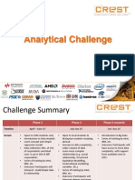 Analytical Challenge