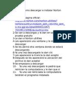 Reporte de Como Descargar e Instalar Norton Utilities (Parcial 3)