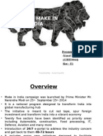 Make in India 12BEI0044