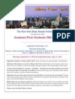 Graduate Program Information 2010