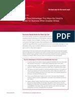 Wp Five Cloud DR Advantages w