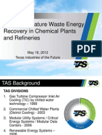 8 TAS Energy- Low Temperature Waste Energy Recovery in Petrochem