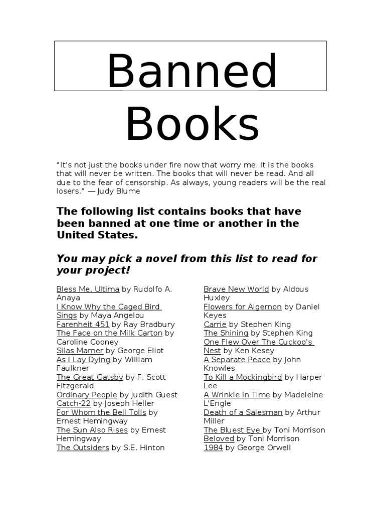 the bluest eye banned