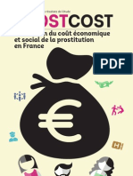 Etude sur le coût de la prostitution