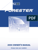 2000 Subaru Forester Owners Manual.pdf