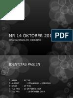 Mr 14 Oktober 2014