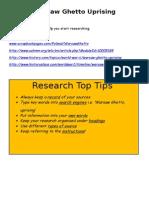 research hyperlinks