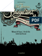 Spiegeltent Program 2007