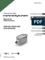 Manual Sony Handycam