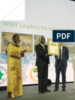 WWF Awards Donald Kaberuka(2)
