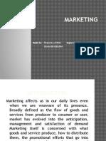 Marketing g