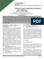 A Load Balancing Based Cloud Computing Techniques-libre