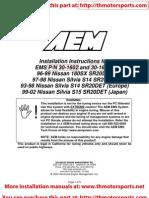 AEM_Installation Instructions 30-1602
