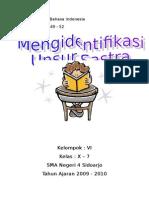 Bab 3 Hal 49-52 Mengidentifikasi Unsur Sastra