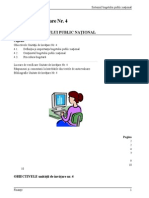 IV. Conceptul de Buget Public National