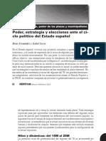 Fernandez e Isabel Serra Poder Estrategia y Elecciones Ante El Ciclo Politico Del Estado EspanIfol
