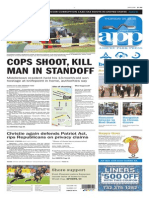 Asbury Park Press front page Thursday, May 28 2015
