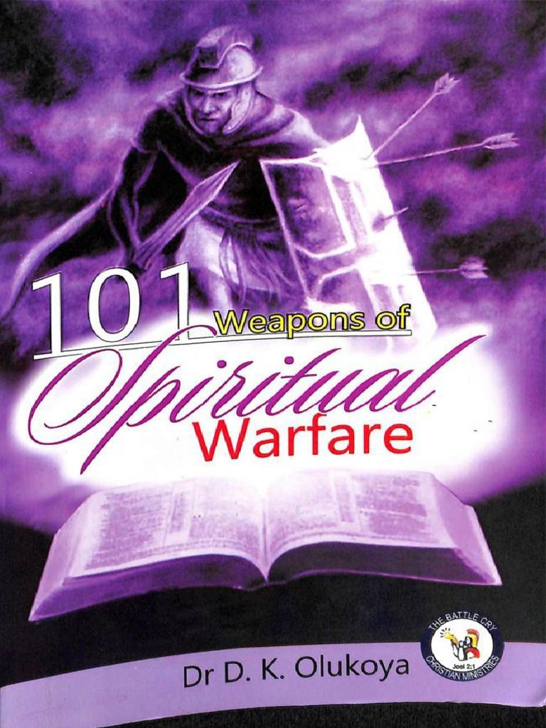 101 Weapons Of Sp War Olukoya Sample Spiritual Warfare Last Judgment