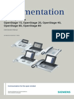 Administration Manual OpenStage OpenScape Voice