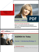 1 - International Strategic Management 2015