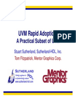 2015 DVCon UVM Rapid Adoption Presentation