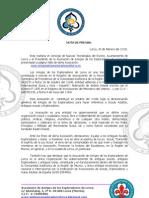 Presentacion Pagina Web Amigos ores