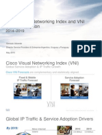 Pronóstico Anual Cisco VNI (Visual Networking Index)