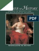 Henry, Madeleine M. - Prisoner of History, Aspasia of Miletus