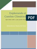 Explorando ...el cambio climático