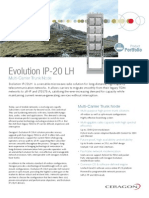 Ceragon Evolution IP-20LH ETSI Rev 1 0