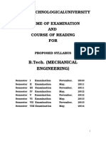 Mechanical Engg. courses
