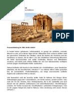 Wir trauern um Palmyra