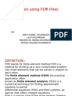 Fem finite element analysis