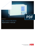 1MRK511190-UEN C en Application Manual Bay Control IED REC 670 1.1