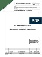 ING117-TK2953-IMCC-134-LT-0002=1 Lista materiales eléctricos para sistema de iluminacion 1TK-2953(LME)