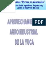 2 Aprovechamiento Agroindustrial de La Yuca