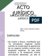 Acto Juridico-simulación Del Acto Jurídico
