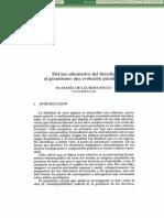 Dialnet-DelUsoAlternativoDelDerechoAlGarantismo-142382