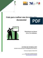 Guía Para Realizar Una Investigación Documental