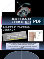 Biopsias en Neumología