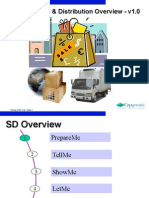 SD0001 Overview of Sales & Distribution Module