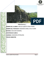 Practica de Geología.- Cuenca Terciaria Del Sureste