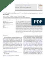 Caso 1 Green Supply Chain Management- B2B B2C