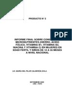 Informe Final Sobre Consumo de Hierro