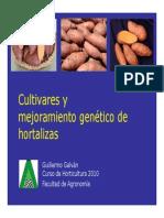 Cultivares y Mejoramiento Genetico - Guillermo