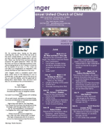 2015 June and July Newsletter