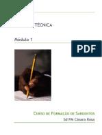 1 - Apostila Redação Técnica - Aulas 1 e 2