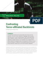 Confronting Terror-affiliated Hacktivists