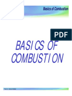 (1-01) Combustion Training - Basics of Combustion