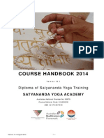 Yogic Studies Course Handbook 2014 v141